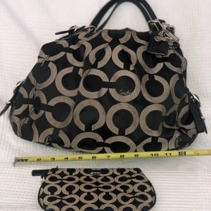 Coach Bag with change purse